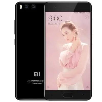 gearbest Xiaomi Mi6 Snapdragon 835 MSM8998 2.35GHz 8コア BLACK(ブラック)