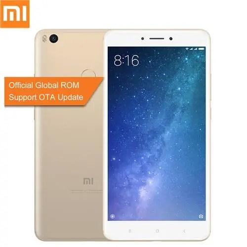 geekbuying Xiaomi Mi Max 2 Snapdragon 625 MSM8953 2.0GHz 8コア GOLDEN(ゴールデン)