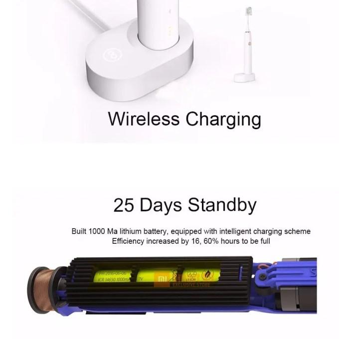 Xiaomi Soocas X3 電動歯ブラシ 充電 25日