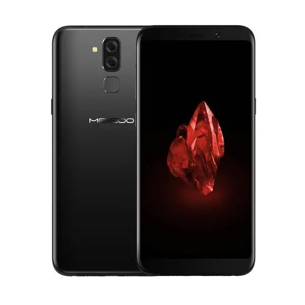 banggood Meiigoo S8 MTK6750T 1.5GHz 8コア BLACK(ブラック)