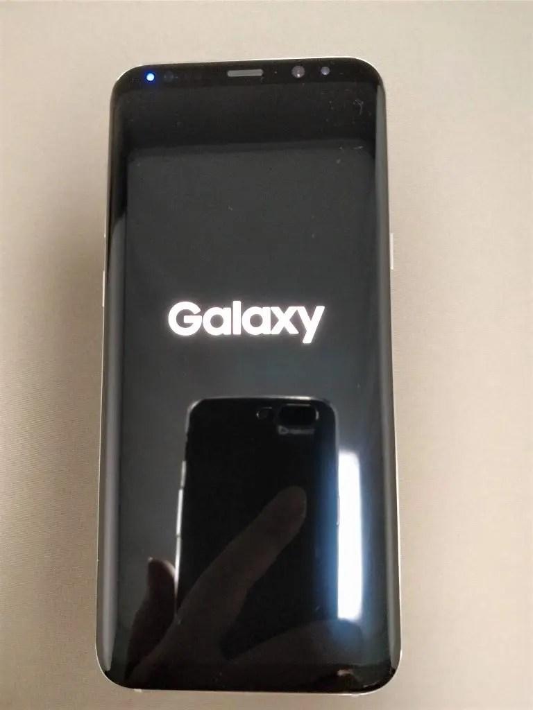 Galaxy S8+ 起動2