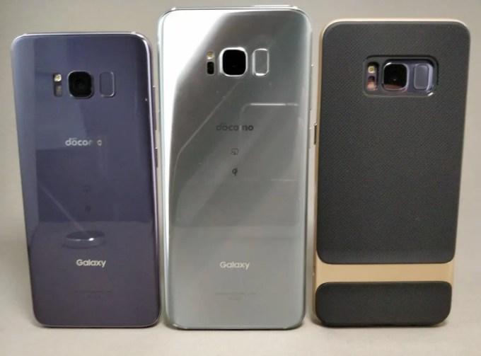 Galaxy S8 VS Galaxy S8+ サイズ比較2