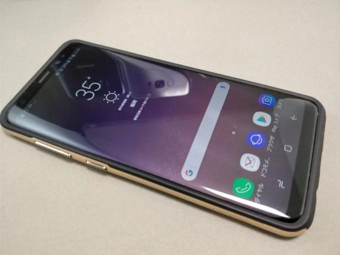 Galaxy S8 VS Galaxy S8+ サイズ比較 naname