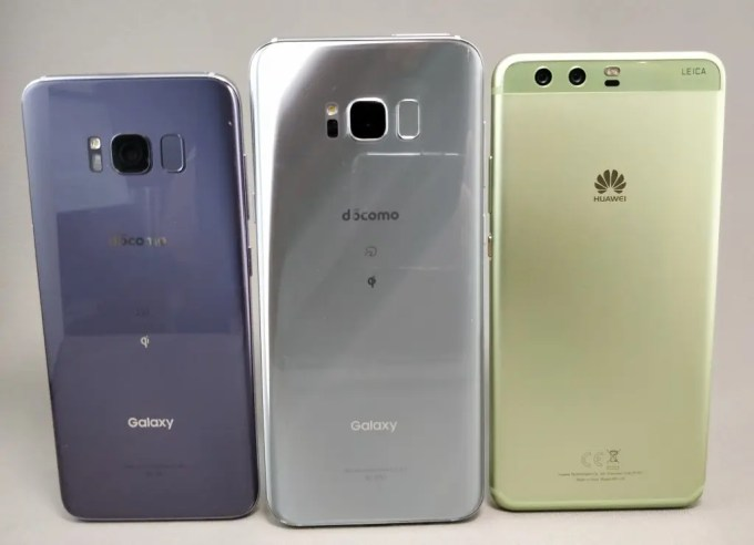Galaxy S8 VS Galaxy S8+ VS Huawei P10 Plus 2