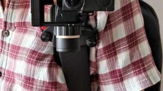 Capture POV 開封の儀 レビュー ジンバルFeiyuTech WG2をリュックベルトにマウント