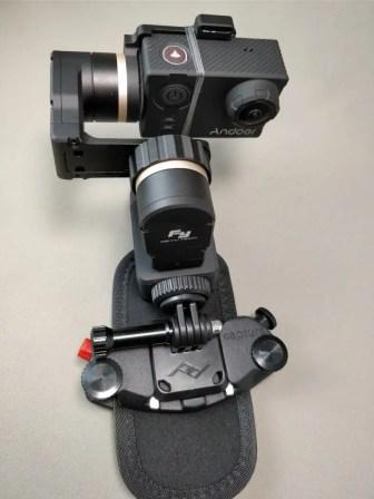 Capture POV+FeiyuTech WG2+アクションカメラ 重量2