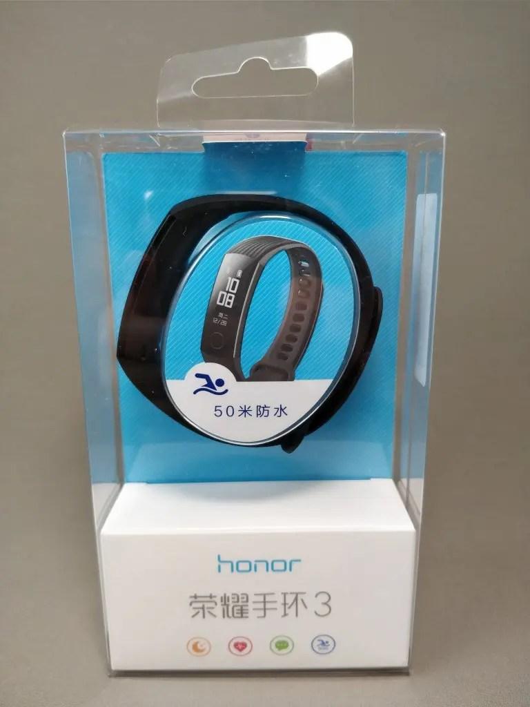 Huawei Honor Band 3 パッケージ 表