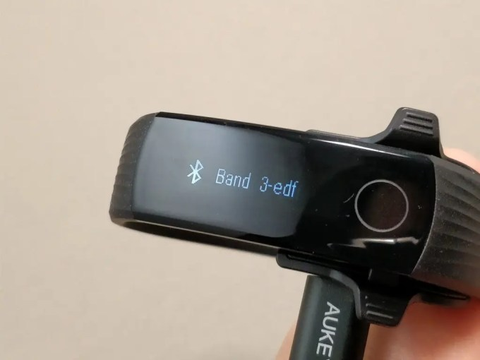 Huawei Honor Band 3 BT接続