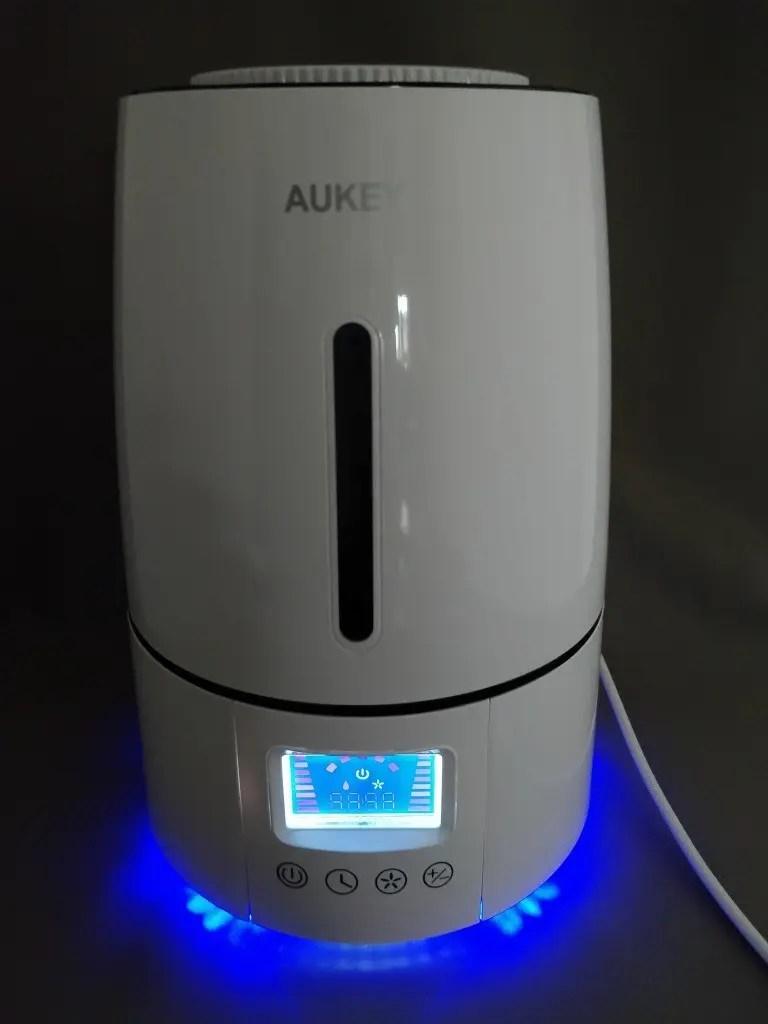 AUKEY 超音波クールミスト加湿器 UH-M1 ライト