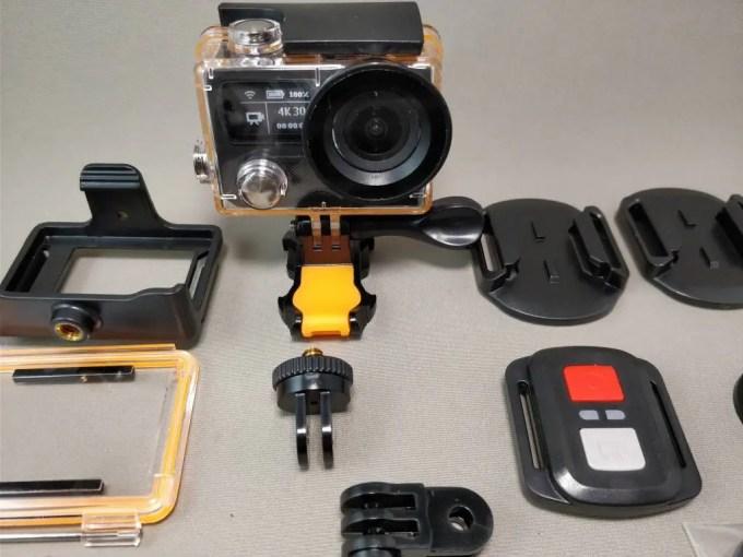 EKEN H8s 4K アクションカメラ セット ズーム