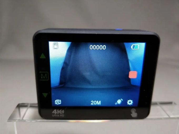 Andoer 4K タッチパネル式 アクションカメラ AN1 できた