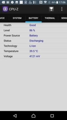 Xperia XZs CPU-Z 5