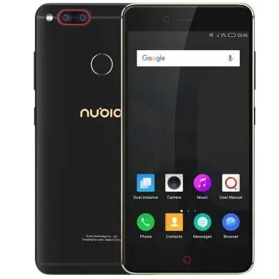 ZTE Nubia Z17 Mini Snapdragon 652 MSM8976 1.8GHz 8コア