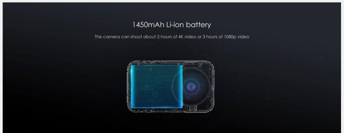 Xiaomi Mijia Camera Mini 4K 30fps Action Camera 商品画像12