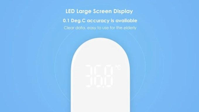 Xiaomi Mi Home iHealth 体温計 商品画像2