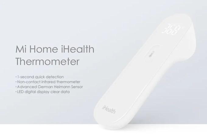 Xiaomi Mi Home iHealth 体温計 商品画像3