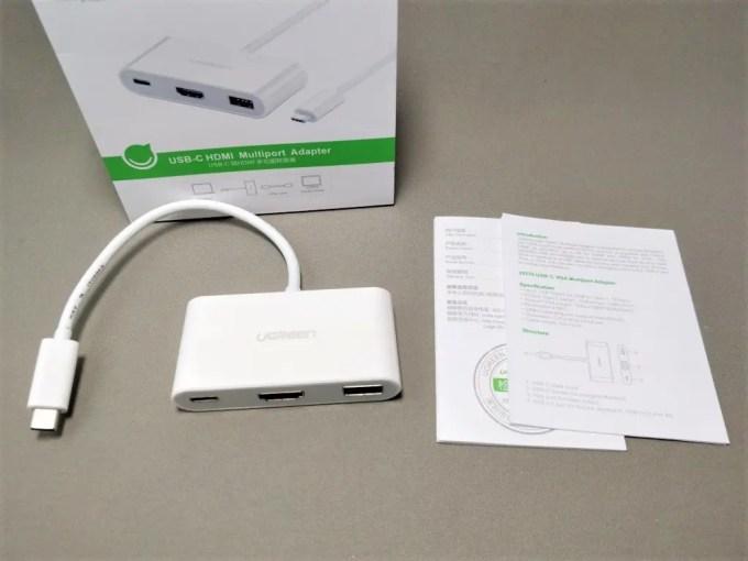 UGREEN USB-C ハブ