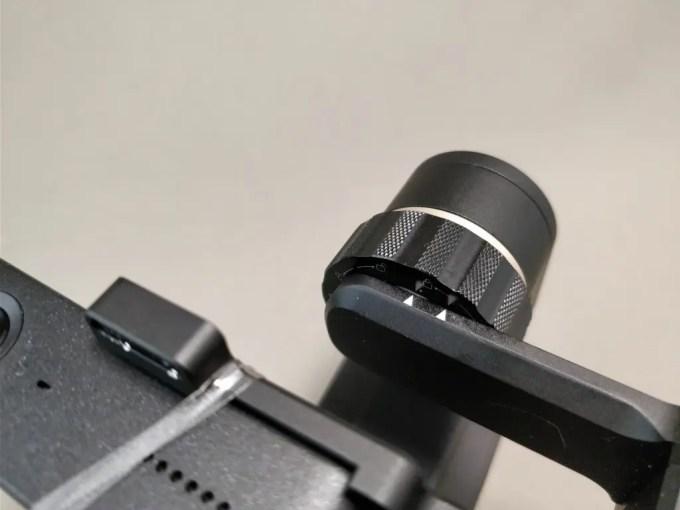 Xiaomi Mijia Camera Mini アクションカメラ  FeiyuTech WG2に装着 重い