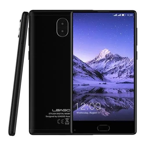geekbuying LEAGOO KIICAA MIX MTK6750T 1.5GHz 8コア BLACK(ブラック)