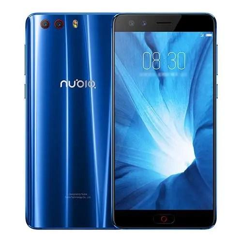 geekbuying ZTE Nubia Z17 mini S Snapdragon 653 MSM8976SG 1.8GHz 8コア DEEP BLUE(ディープブルー)