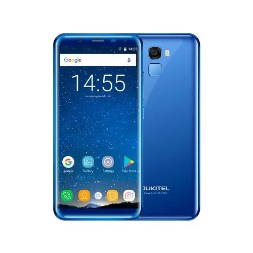 tomtop Oukitel K5000 MTK6750T 1.5GHz 8コア BLUE(ブルー)