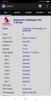 Xiaomi Mi MIX 2 CPU-Z 1