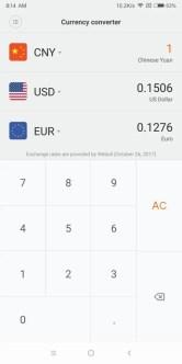 Xiaomi Mi MIX 2 為替
