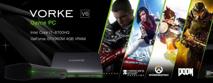 VORKE V6 Game PC 特設ページ