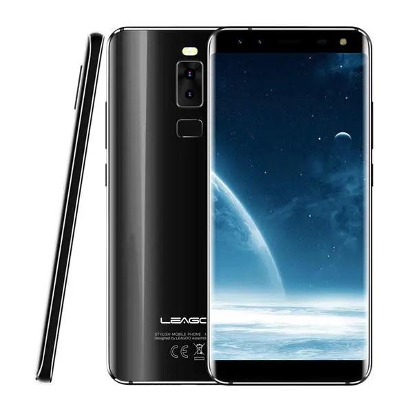 banggood LEAGOO S8 MTK6750T 1.5GHz 8コア BLACK(ブラック)