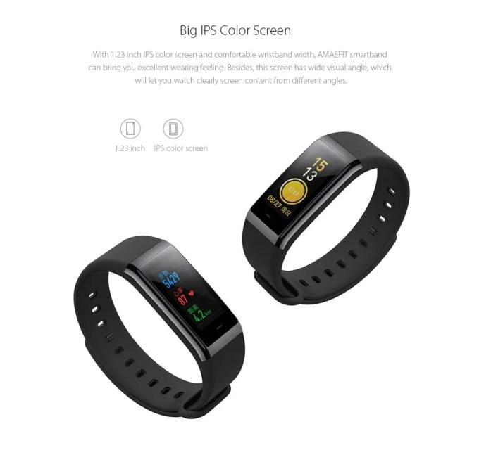 Xiaomi AMAZFIT Heart Rate Smartband