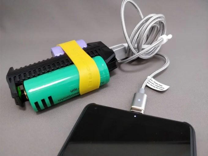 NITECORE F2 USBバッテリー