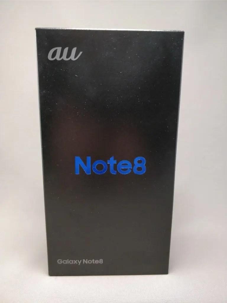 Galaxy note 8 化粧箱表