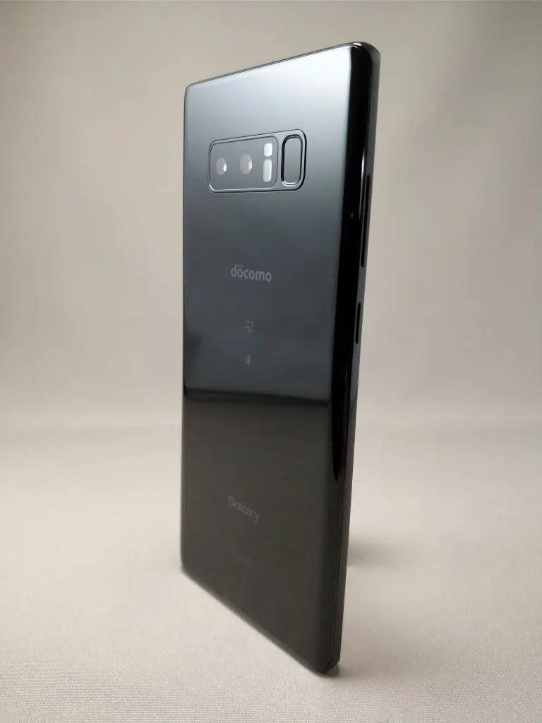 Galaxy note 8 裏 ブラック11