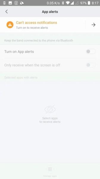 Mi Fitと連携させるとできること 設定 アプリ通知