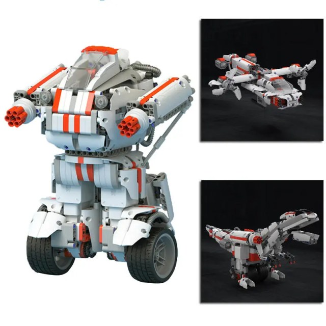 Xiaomi MITU DIY Mobile Phone Control Self-assemble Robot for Kids Toy