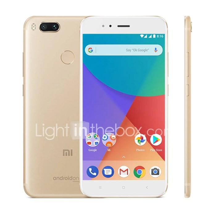 lightinthebox Xiaomi Mi A1 Snapdragon 625 MSM8953 2.0GHz 8コア GOLD(ゴールド)