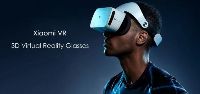 Xiaomi VR 3D Glasses 装着2