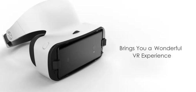 Xiaomi VR 3D Glasses 装着 Xiaomi機