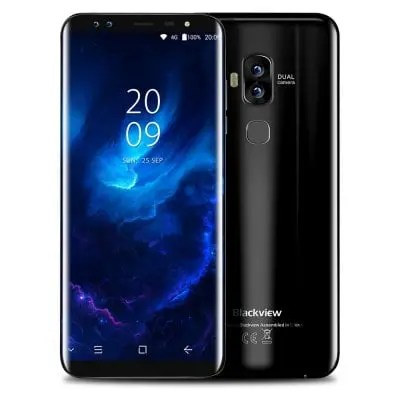 gearbest Blackview S8 MTK6750T 1.5GHz 8コア BLACK(ブラック)