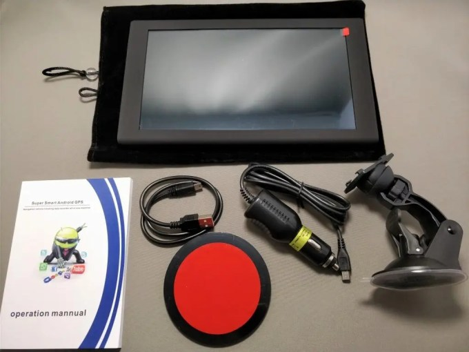 KKmoon 9inch Tablet 開封 付属品