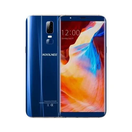 tomtop KOOLNEE K1 MTK6750T 1.5GHz 8コア BLUE(ブルー)