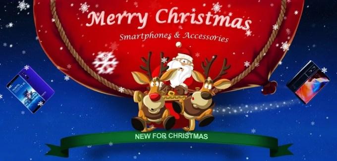 TOMTOP クリスマス スマホセール 特設ページ