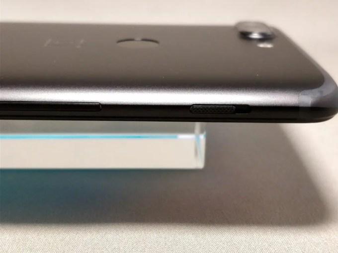 OnePlus 5T 側面 左