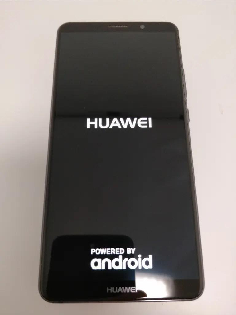Huawei Mate 10 Pro 起動5