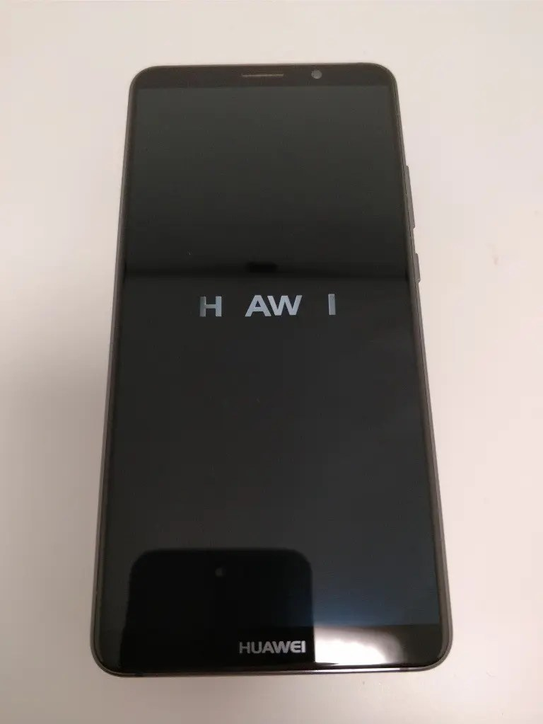 Huawei Mate 10 Pro 起動7