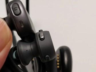 防水ウォークマン NW-WS625 NWZ-WS613と比較 ボタン 左