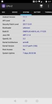 OnePlus 5T CPU-Z 1