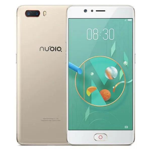 banggood Nubia M2 Lite MTK6750 1.5GHz 8コア GOLD(ゴールド)