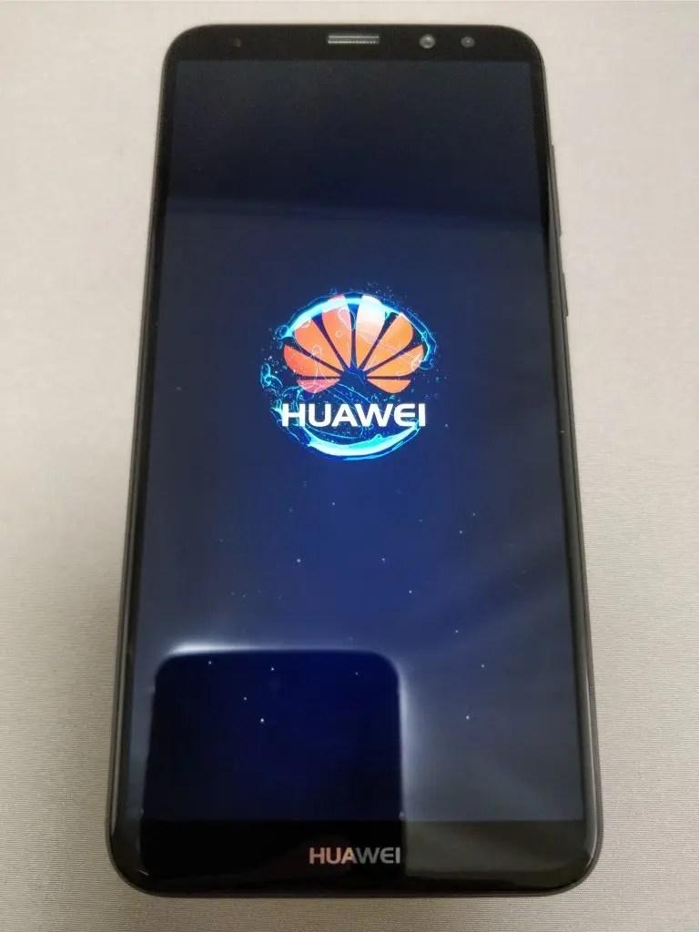 Huawei Mate 10 Lite 起動 8