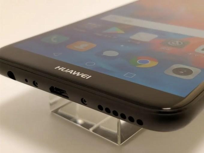 Huawei Mate 10 Lite ベゼル 下